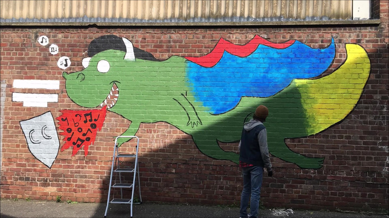 Creating The Liverpool Dragon