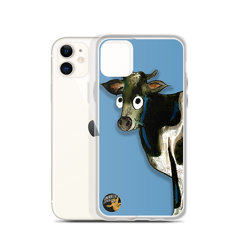 Colin The Cow iPhone Case