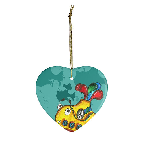 Yellow Submarine Ornament