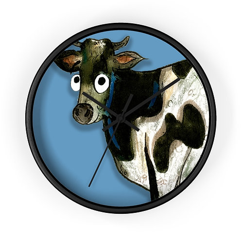 Colin The Cow Clock