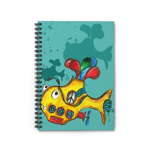 Yellow Submarine Notebook