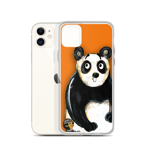 Peter The Panda iPhone Case