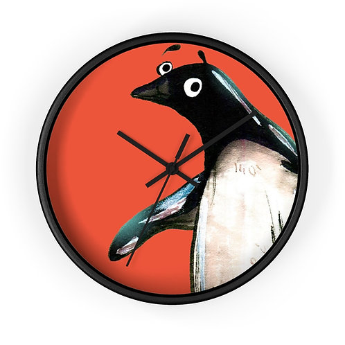Paul The Penguin Clock