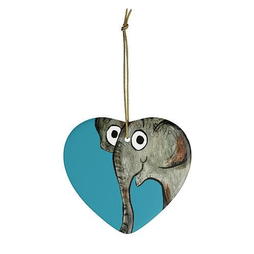 Erin The Elephant Ornament