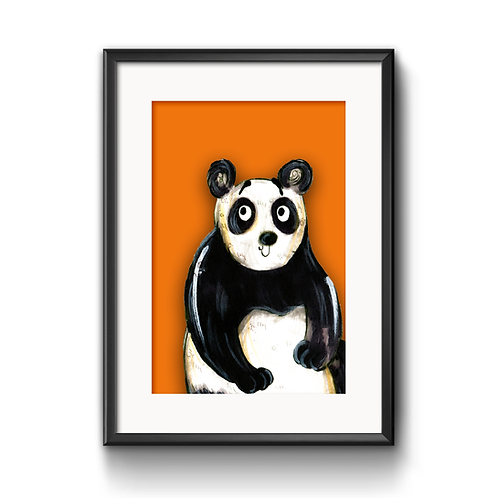 Peter The Panda Print