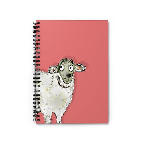 Sarah The Sheep Notebook