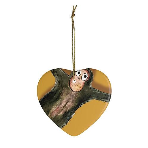 Matthew The Monkey Ornament
