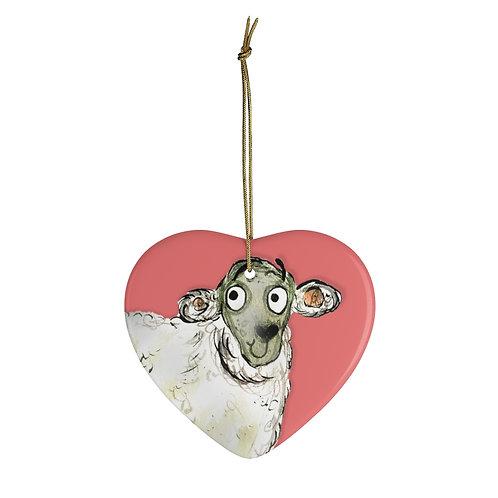 Sarah The Sheep Ornament