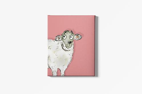 Sarah The Sheep Canvas