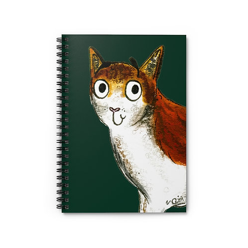 Caroline The Cat Notebook