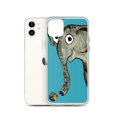 Erin The Elephant iPhone Case