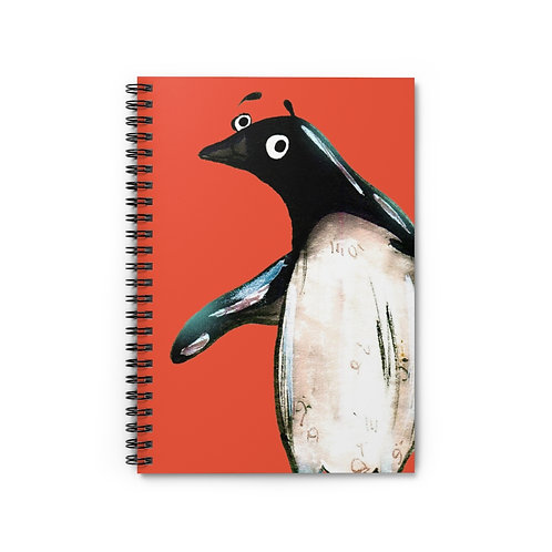 Paul The Penguin Notebook