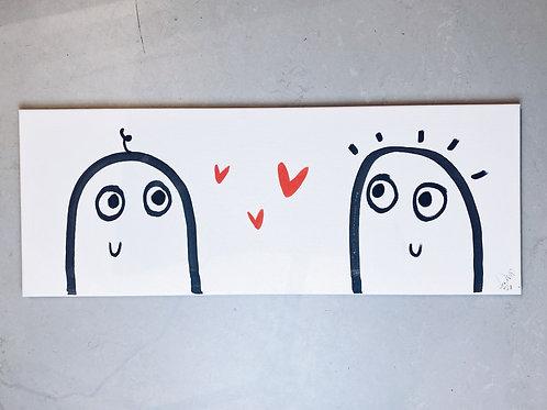 IN LOVE - Original Canvas