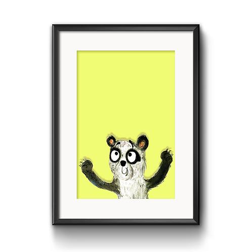 Patrick The Panda Print