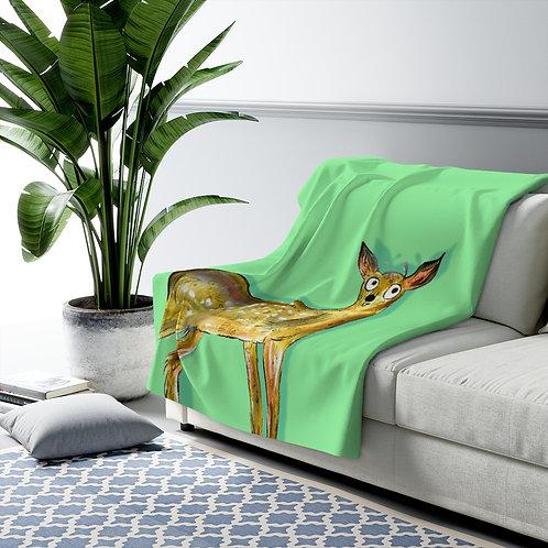 Darren The Deer Blanket