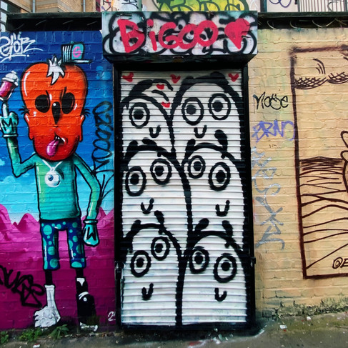 Brick Lane Blobs, London