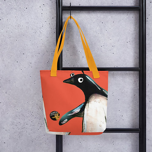 Paul The Penguin Tote