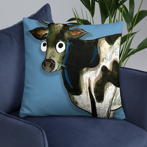 Colin The Cow Cushion