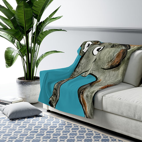 Erin The Elephant Blanket