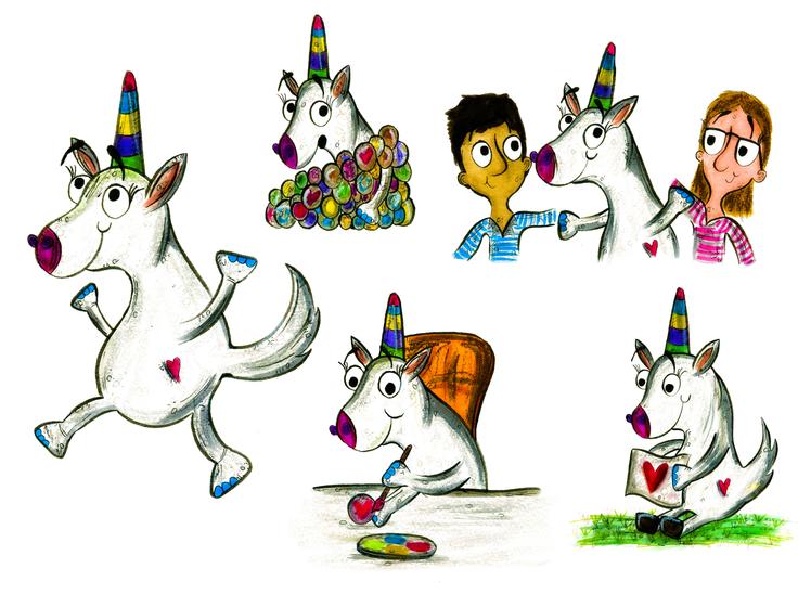Unicorn Character Development