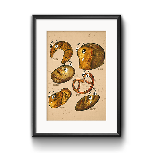 The Breads Print