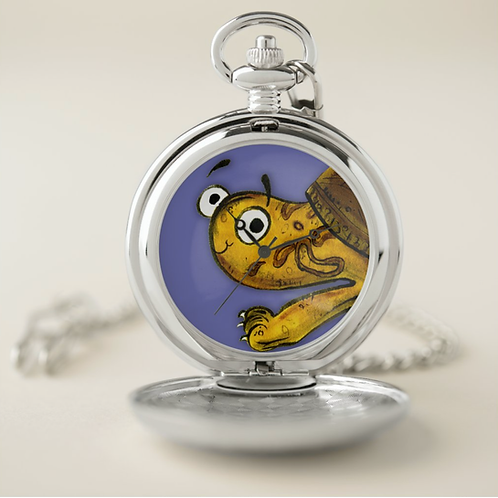 Tyler The Tortoise Pocket Watch