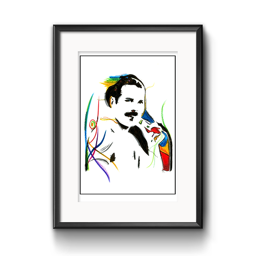 Freddie Mercury Print