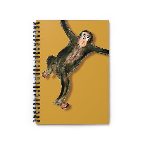 Matthew The Monkey Notebook