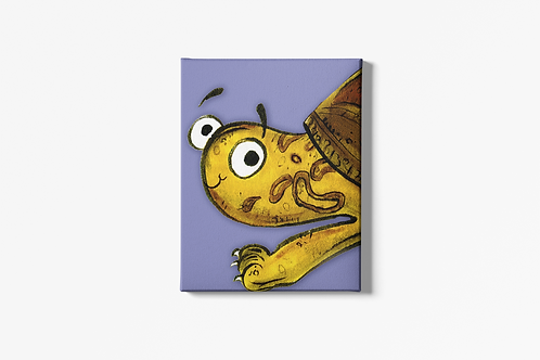 Tyler The Tortoise Canvas