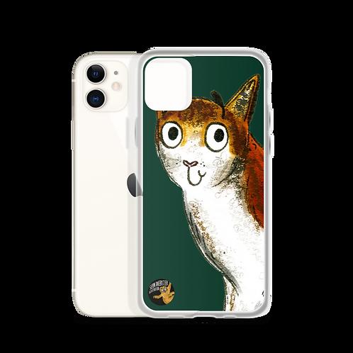 Caroline The Cat iPhone Case