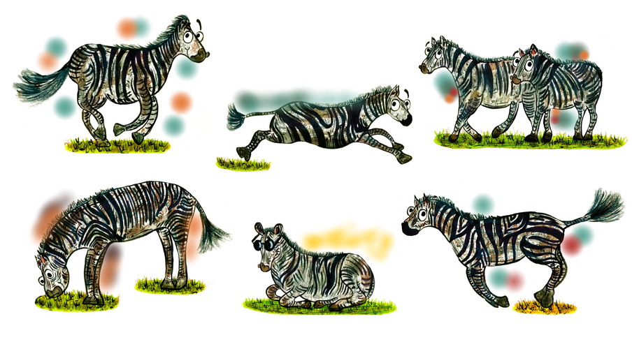 Zebra Character Development