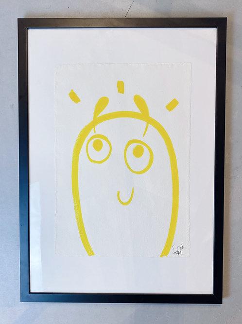 HAPPY BLOB - Original Canvas