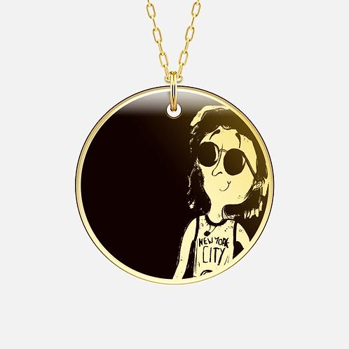 Lennon Gold/Silver Pendant