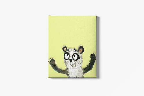 Patrick The Panda Canvas
