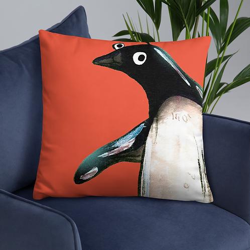 Paul The Penguin Cushion