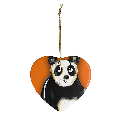 Peter The Panda Ornament