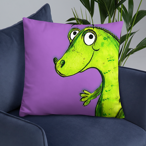 Clare The Crocodile Cushion