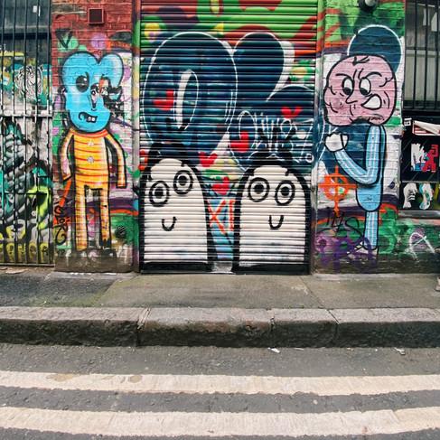 Shoreditch Blobs, London