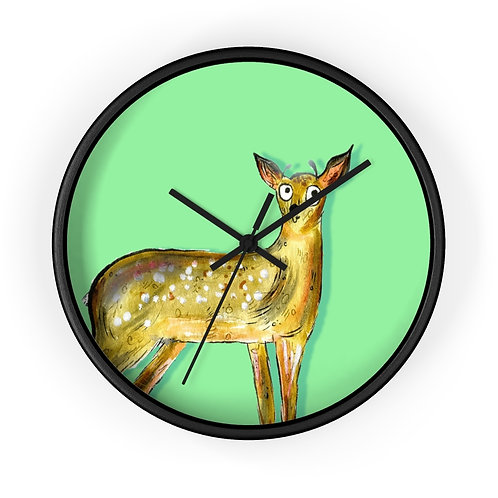 Darren The Deer Clock