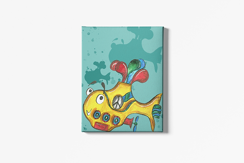 Yellow Submarine Canvas