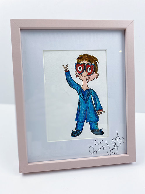Elton Original Illustration