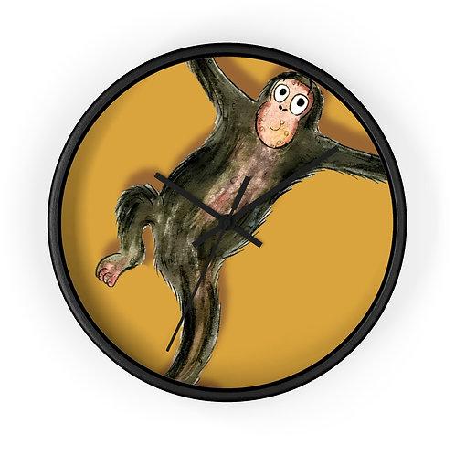 Matthew The Monkey Clock