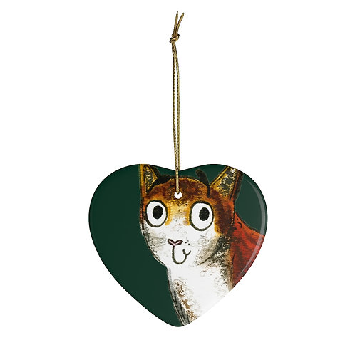 Caroline The Cat Ornament