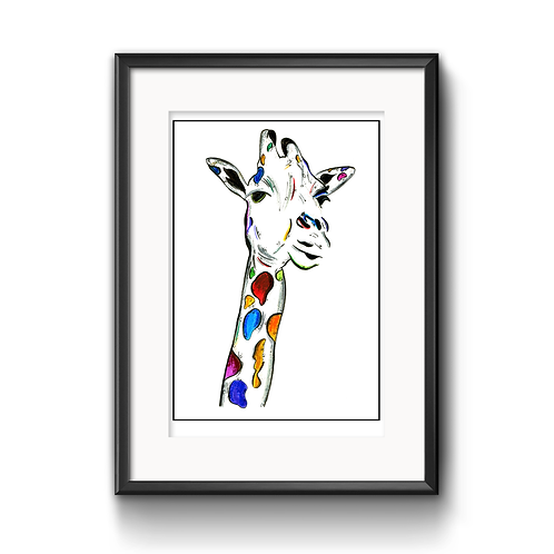 Gina The Giraffe Print
