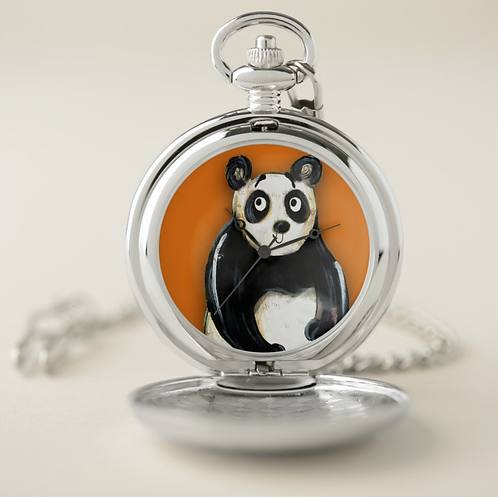 Peter The Panda Pocket Watch