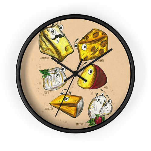 The Cheeses Clock