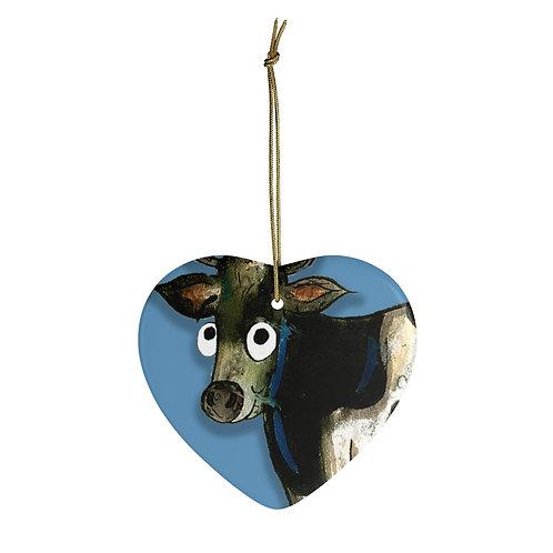 Colin The Cow Ornament