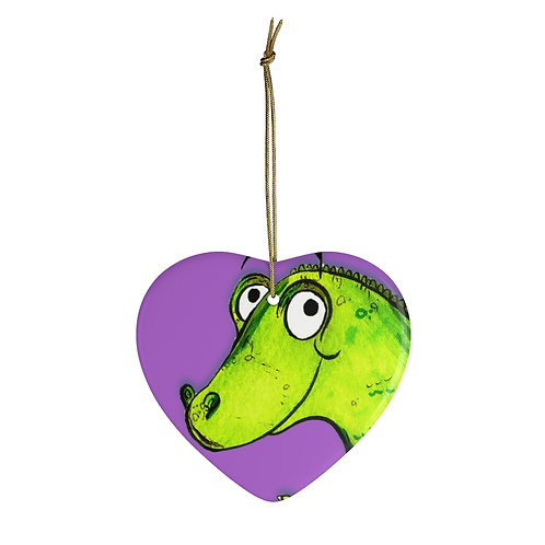 Clare The Crocodile Ornament