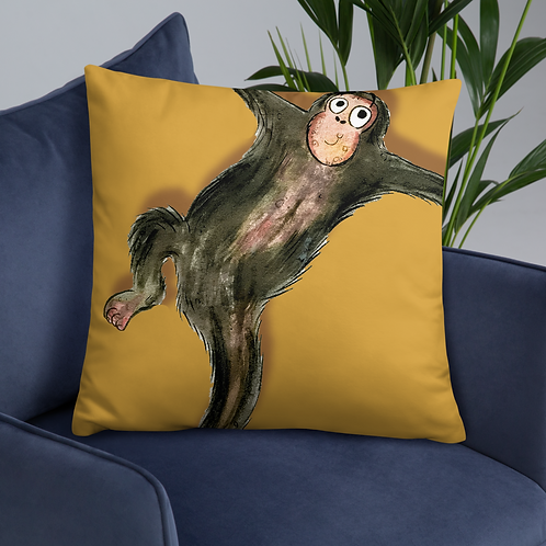 Matthew The Monkey Cushion