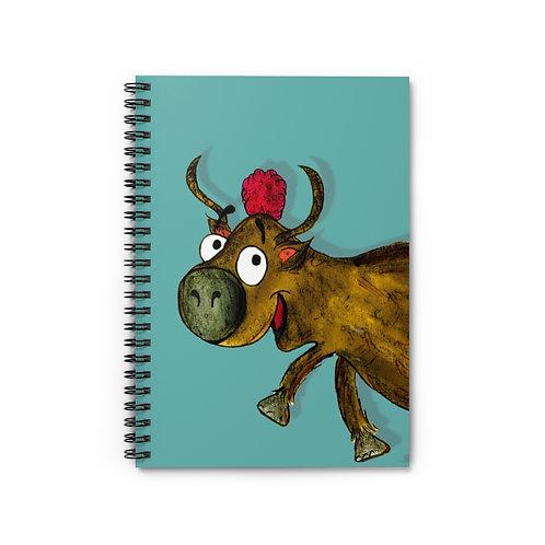 Yvonne The Yak Notebook